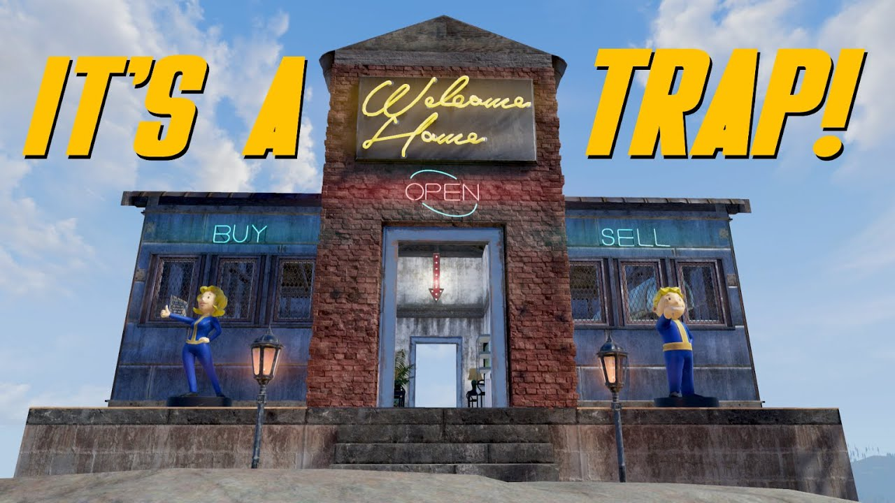 Fallout 76 - Easy Trap Sends Players FLYING