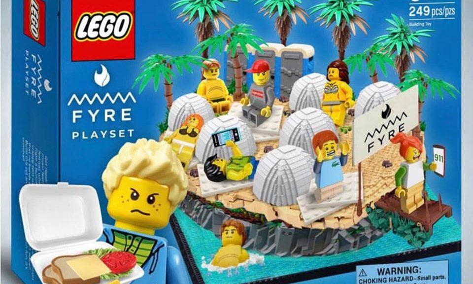 Lego Fyre Festival
