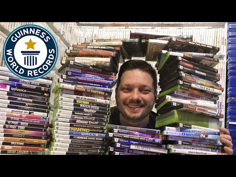 Dude shows off world record collection of 20,139 video games that took 8 days to count