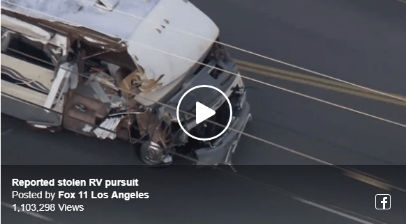 Super Awesome Motorhome Car Chase