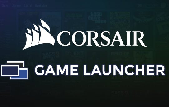 THE CORSAIR GAME LAUNCHER