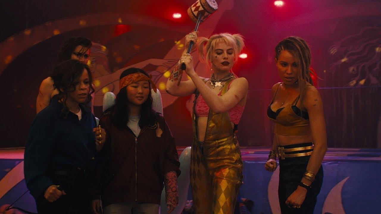 Harley Quinn enjoys a Joker-free life in the first Birds of Prey trailer