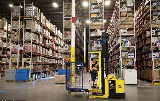 Ambulances went to Amazon warehouses once every two days last year as workers collapsed