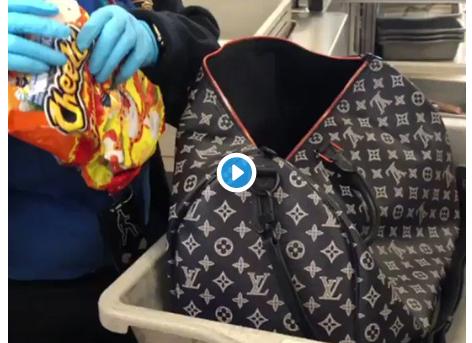 TSA Flags Woman Carrying 20 Bags of Flamin' Hot Cheetos
