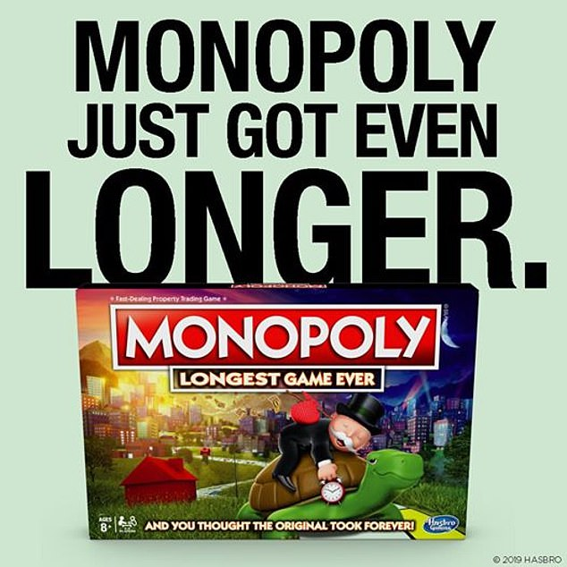 Iconic family game Monopoly has created their 'longest ever' version for $30