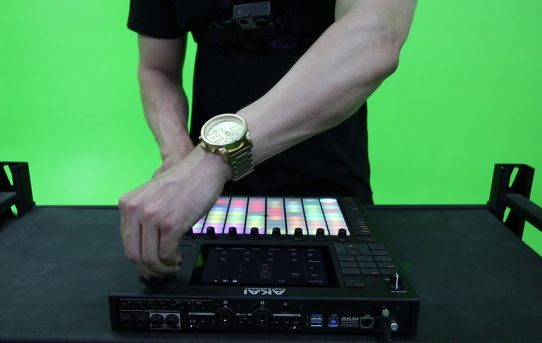 Akai Force x M4SONIC - Unboxing and Live Freestyle