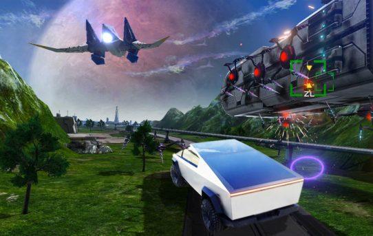 Tesla Cybertruck Confirmed For Next Star Fox Game