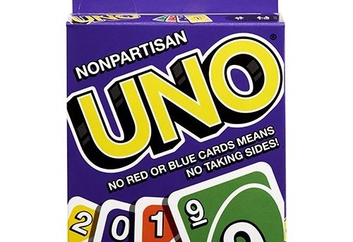 Uno removes red and blue cards to try to keep politics out of games